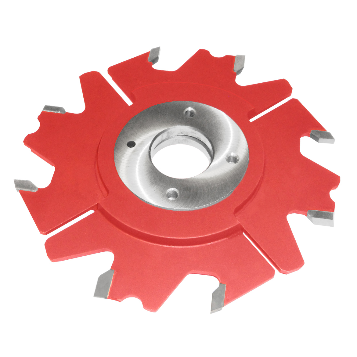 Adjustable grooving cutters with thickness by means of space-washers